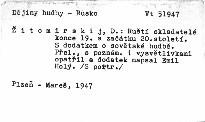 Ruští skladatelé konce XIX. a začátku XX. století