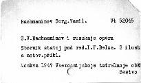 S. V. Rachmaninov i russkaja opera