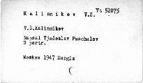 V.S. Kalinnikov