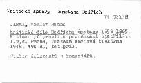 Kritické dílo Bedřicha Smetany 1858-1865