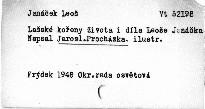 Lašské kořeny života i díla Leoše Janáčka