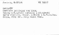 Smetanův jubilejní rok 1944