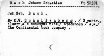 Joh.Seb.Bach