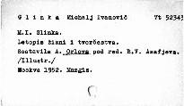 M. I. Glinka