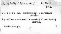 Dargomyžskij i narodnaja pesnja