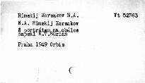 Nikolaj Rimskij-Korsakov