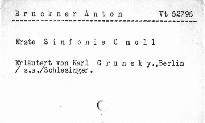 Anton Bruckner: Erste Sinfonie c moll
