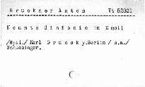 Anton Bruckner: Neunte Sinfonie in d moll