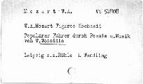 W. A. Mozart, Figaros Hochzeit