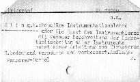 Populäre Instrumentationslehre