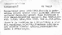 Konzervatoř Brno 1919-1969