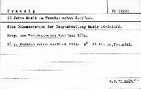 20 Jahre Musik im Westdeutschen Rundfunk