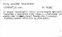 50rokov Speváckého zboru slovenských učitěľov