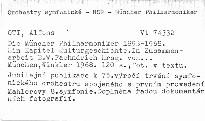 Die Müncher Philharmoniker 1893-1968