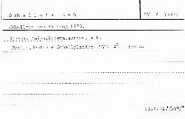 Schallplatten-Katalog 1970