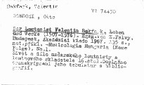 Der Lautenist Valentin Bakfark