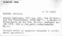 Arnold Schönberg- 1874-bis 1951