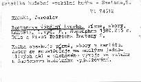 Smetanova vokální tvorba