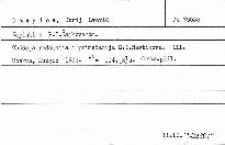 Zapiski o P.I.Čajkovskom