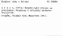 Muzykologia Polska na przelomie