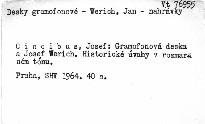 Gramofonová deska a Jan Werich