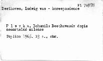 Beethovenův dopis nesmrtelné milence