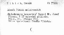 Zdeněk Fibich melodramatik