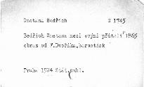 Bedřich Smetana mezi svými přáteli roku 1865