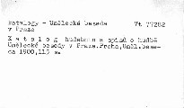 Katalog hudebnin a spisů o hudbě Umělecké besedy