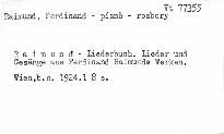 Raimund-Liederbuch