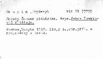 Sovety Šopena pianistam