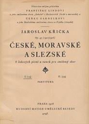 České, moravské a slezské