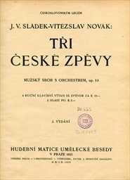 3 české zpěvy