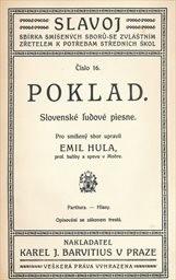Poklad slovenské l'udové piesne