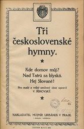 Tři československé hymny