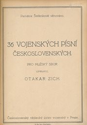 36 vojenských písní československých
