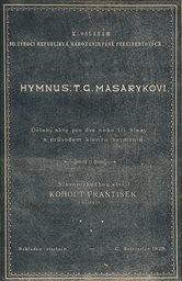 Hymnus: T. G. Masarykovi