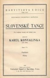 Slovenské tance