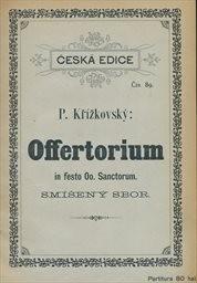 Offertorium de communi plurimorum martyrum et in festo Oo. Sanctorum