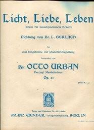 Licht, Liebe, Leben, op. 31