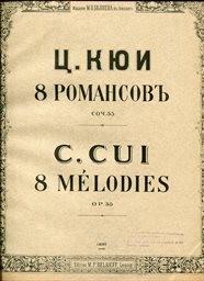 8 romansov, op. 55