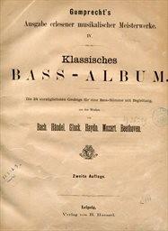 Klassisches Bass-Album