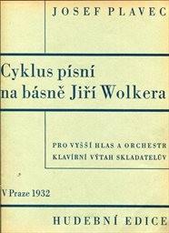 Cyklus písní na básně Jiřího Wolkera