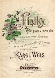 Fialky, op. 26