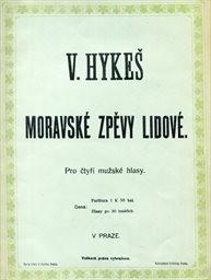 Moravské zpěvy lidové
