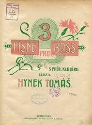 3 písně pro bas