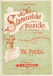 Starosvětské písničky, op. 11