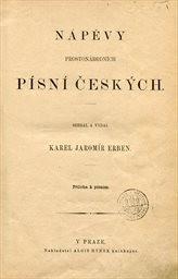 Nápěvy prostonárodních písní českých