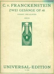 2 Gesänge, op.40