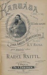 Kantáta na oslavu 300 letého narození Jana Amosa
